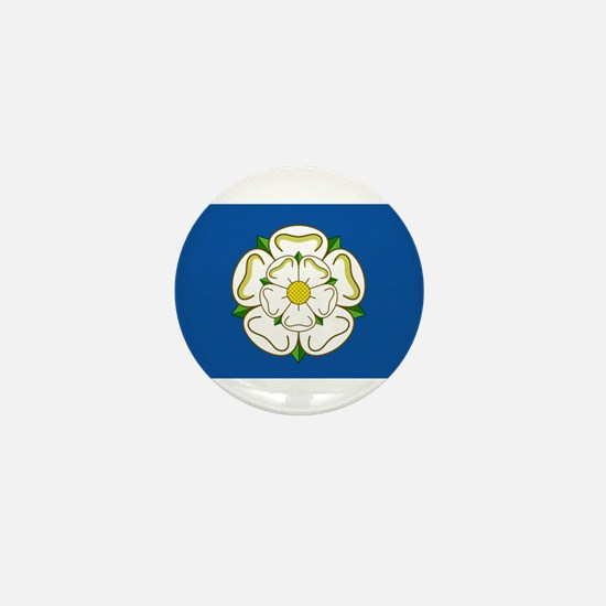 Flag of Yorkshire Mini Button