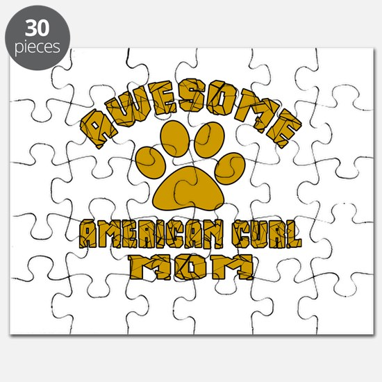 Awesome American Curl Mom Designs Puzzle