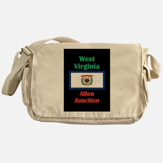 Allen Junction West Virginia Messenger Bag
