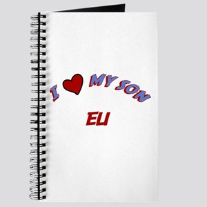 I Love My Son Eli Journal