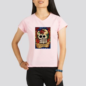 Amor Day of the Dead Skull Performance Dry T-Shirt