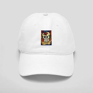 Amor Day of the Dead Skull Cap