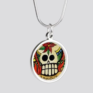 Amor Day of the Dead Skull Necklaces