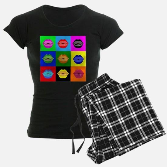 kiss pattern Pajamas