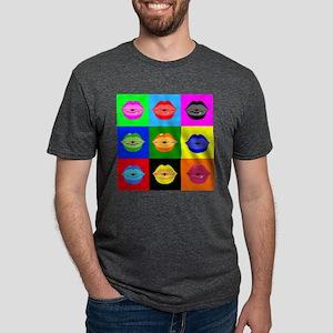 kiss pattern T-Shirt