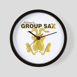 Sax Wall Clock
