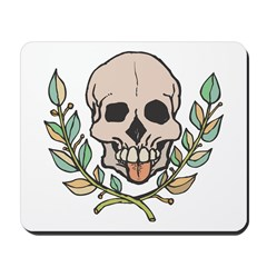Skull Tongue Mousepad
