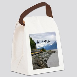 Alaska Land Sea Cruise Vacation S Canvas Lunch Bag