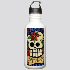 Amor Day of the Dead S Stainless Water Bottle 1.0L