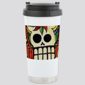Amor Day of the Dead Sk Stainless Steel Travel Mug