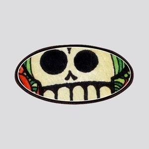 Amor Day of the Dead Skull Patch