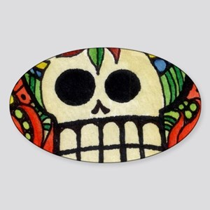 Amor Day of the Dead Skull Sticker