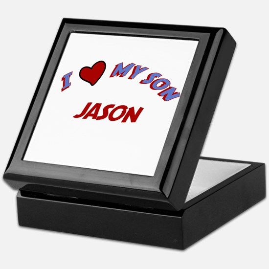 I Love My Son Jason Keepsake Box