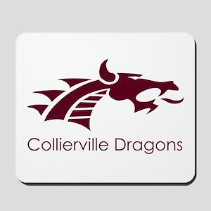 Collierville HS Maroon Dragon Mousepad