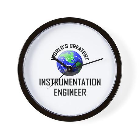 World's Greatest INSTRUMENTATION ENGINEER Wall Clo