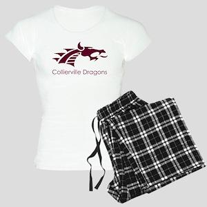 Collierville HS Maroon Drag Women's Light Pajamas