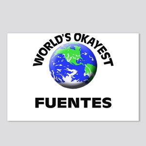World's Okayest Fuentes Postcards (Package of 8)