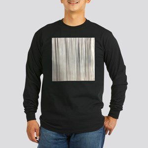 abstract champagne gold stripe Long Sleeve T-Shirt