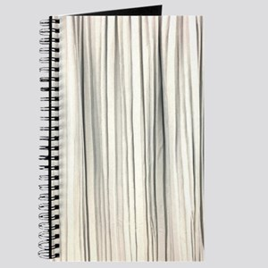 abstract champagne gold striped Journal