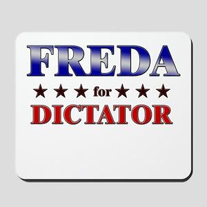 FREDA for dictator Mousepad