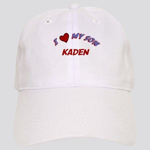 I Love My Son Kaden Cap