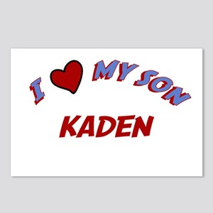 I Love My Son Kaden Postcards (Package of 8)
