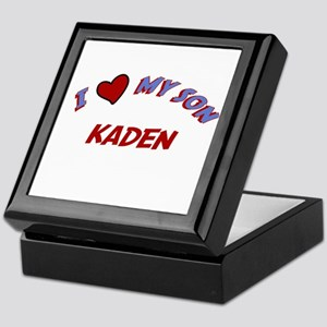 I Love My Son Kaden Keepsake Box