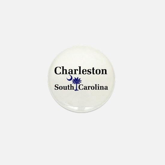 Charleston South Carolina Mini Button