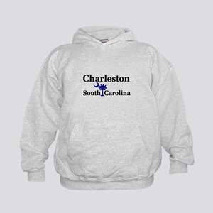 Charleston South Carolina Kids Hoodie