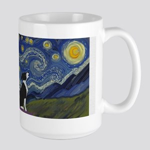 Starry ES Black and White Mugs