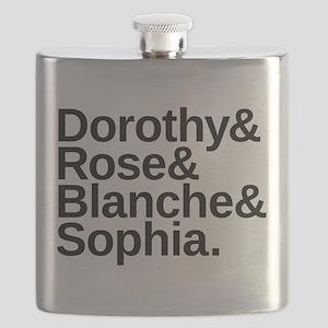 Golden Girls Name List Flask