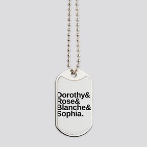 Golden Girls Name List Dog Tags