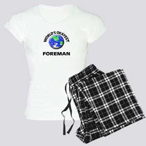 World's Okayest Foreman Women's Light Pajamas