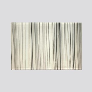 abstract champagne gold striped Magnets