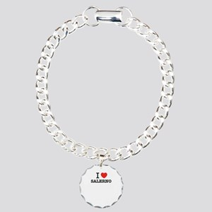 I Love SALERNO Charm Bracelet, One Charm