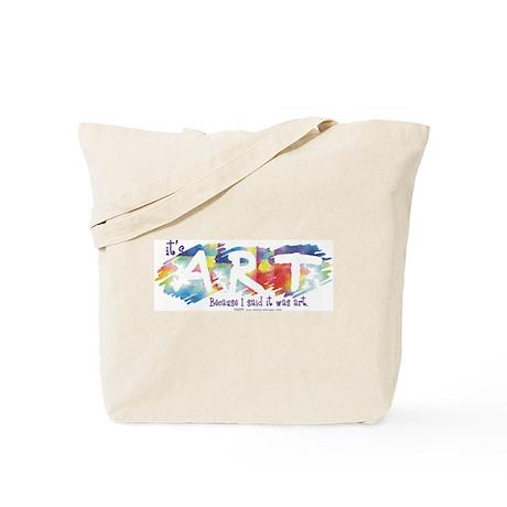 I said it was Art Tote Bag