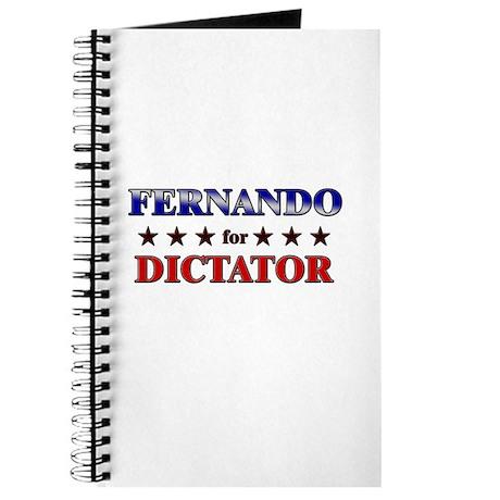 FERNANDO for dictator Journal