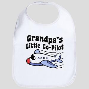 Grandpa's Little Co-Pilot Bib