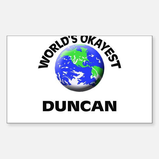 World's Okayest Duncan Decal
