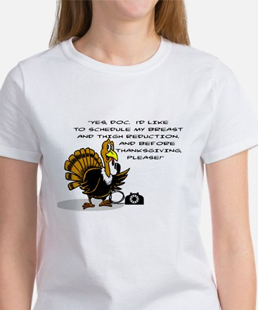 TURKEY SCHEDULING BREAST AND THIGH REDUCTI T-Shirt