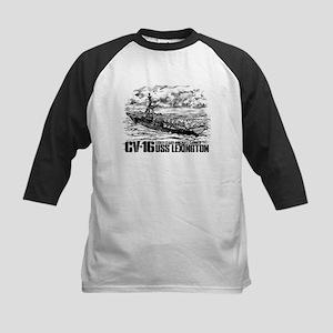 Aircraft carrier Lexington Baseball Jersey