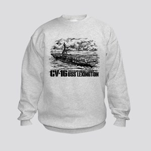 Aircraft carrier Lexington Sweatshirt