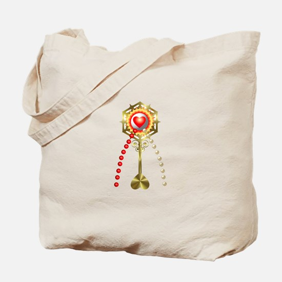 Holy Communion: Divine Mercy Tote Bag