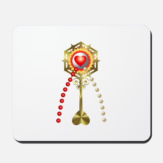 Holy Communion: Divine Mercy Mousepad