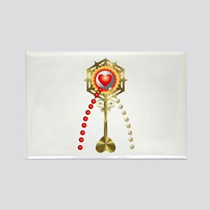Holy Communion: Divine Mercy Rectangle Magnet