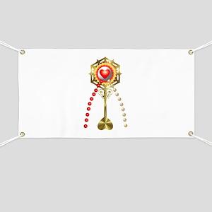 Holy Communion: Divine Mercy Banner