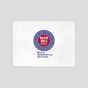 MAD Men Society 5'x7'Area Rug