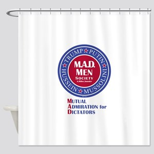 MAD Men Society Shower Curtain