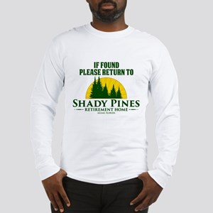 Return to Shady Pines Long Sleeve T-Shirt