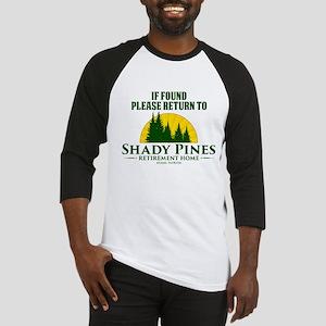Return to Shady Pines Baseball Jersey